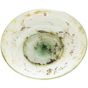 Roman Glass Plate Second Temple Period – found in Jerusalem