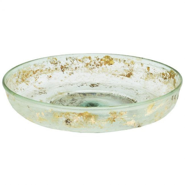 Ancient Roman Glass Plate
