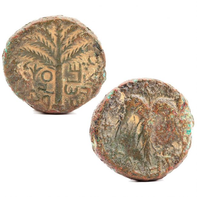 Simon Bar Kokhba Ancient Coin