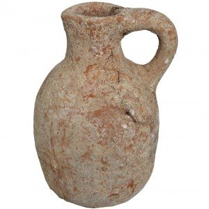 Ancient Clay Pitcher of King David Period – Found in Jerusalem