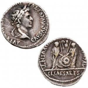 Denarius of Caesar Augustus – Time of Jesus Coin