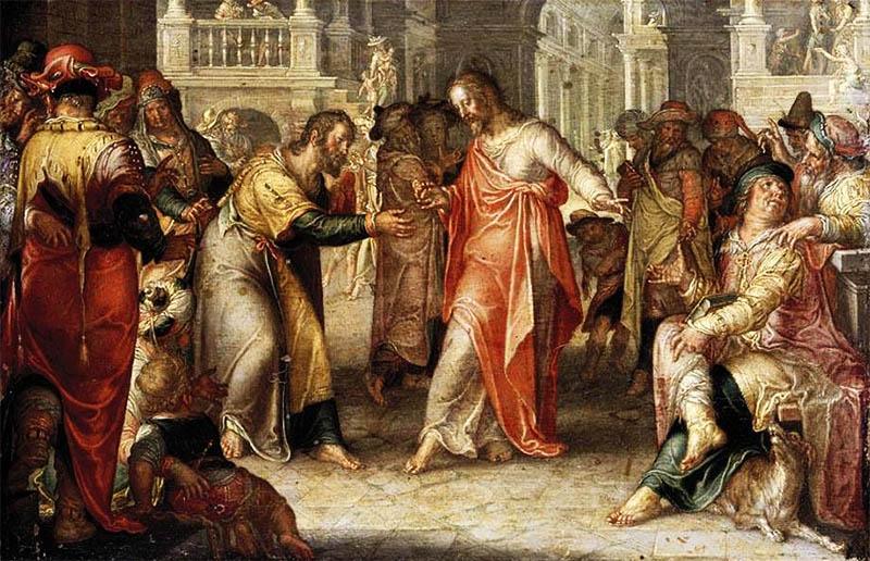 The Tribute Money, by Joachim Wtewael (1616)