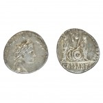 Roman Denarius Cesar Augustus - Coin of the Bible