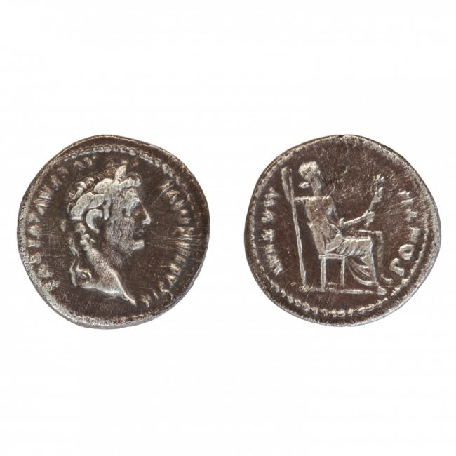 Tiberius Denarius Tribute Penny - Coins of the Bible