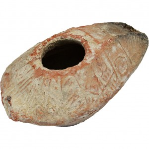 Ancient Byzantine Oil lamp 5a