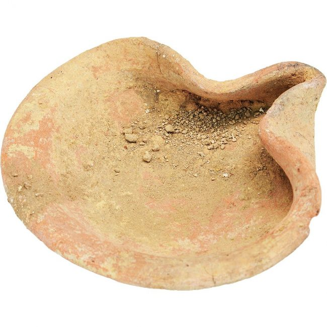 Ancient oil lamp preheat jeremiah time
