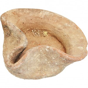 First temple ancient oil lamp b