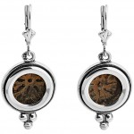Widows mite earrings sterling silver