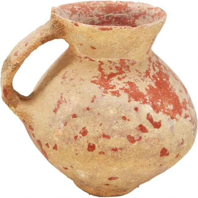 Ancient Early Bronze Pottery