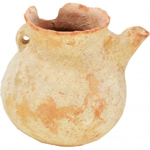 Ancient Vessel with a Spout - Middle Bronze Age Period