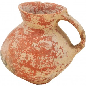 Ancient Canaanite Pottery Vase