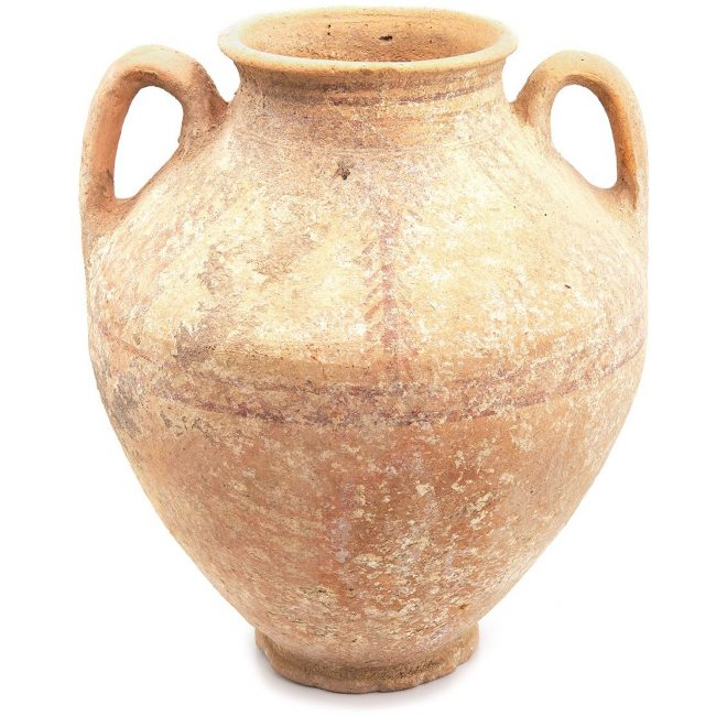 Late Bronze Painted Amphora