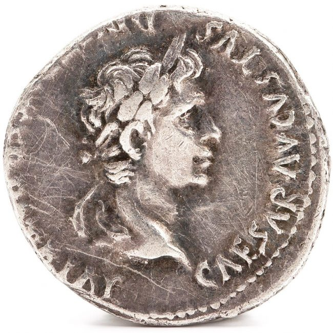 Coin of Caesar Augustus - Time of Jesus