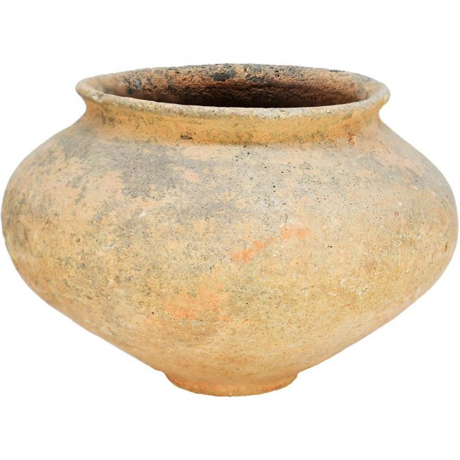 Middle Bronze Period Ancient Pottery Bowl