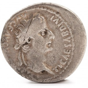 Caesar Tiberius Silver Coin - The Tribute Penny