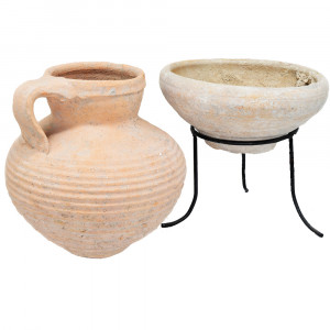 Jesus Time Jug and a Bowl- Herodian Period Vessels