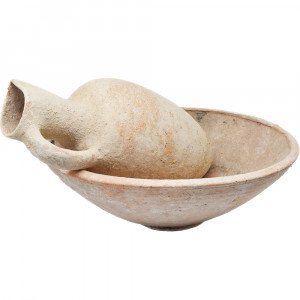 Middle Bronze Age Juglet and a Bowl Patriarchs Period