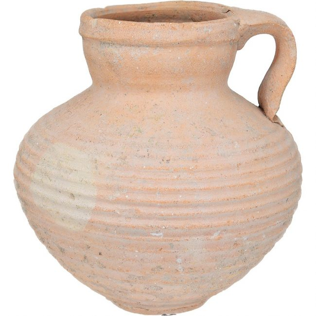 Herodian Clay Water Cup - Jesus Time Ancient Pottery