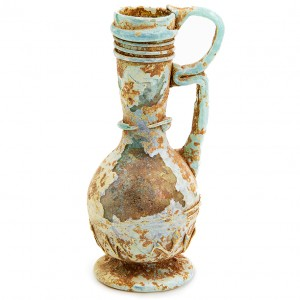 Translucent Ancient Glass – Roman Period Perfume Jar